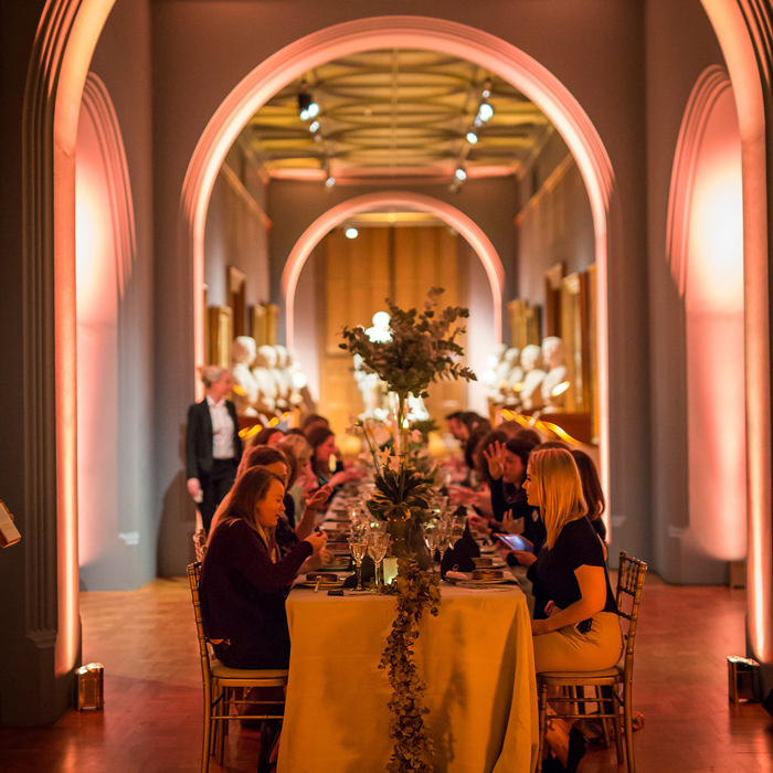 National Portrait Gallery dinner event space catering